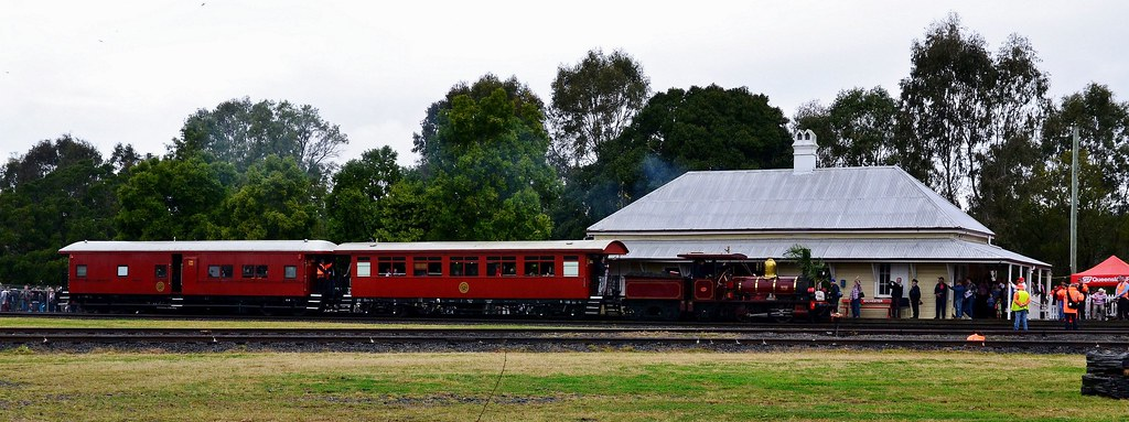 Queensland Rail 150 Year Celebrations - Grandchester - Sunday 26th July 2015 by Shawn Stutsel
