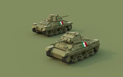 Carro Armato P40 Heavy Tank
