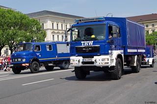 GKW 2 - THW-82462 München-Ost, THW-83970 München-West