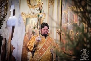 Литургия в Покровском соборе 144