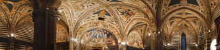 Siena Cathedral ceiling panorama