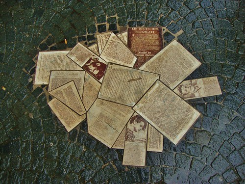Leaflets memorial for Hans and Sophie Scholl | by Alex J Donohue