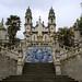 686 steps decorated with tiles  leads to the Sanctuary of Nossa Senhora dos Remédios