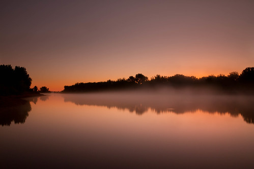 morning mist lake sunrise reflections landscape dawn colorado lakes cape chatfieldlake