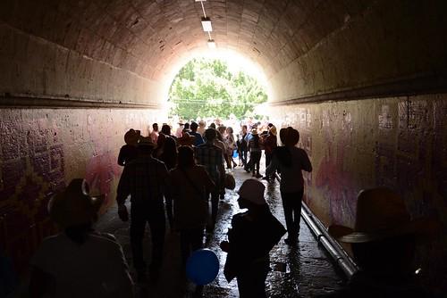 La salida del auditorio Guelaguetza siempre debe ser anticipada y con precaución #Guelaguetza2013