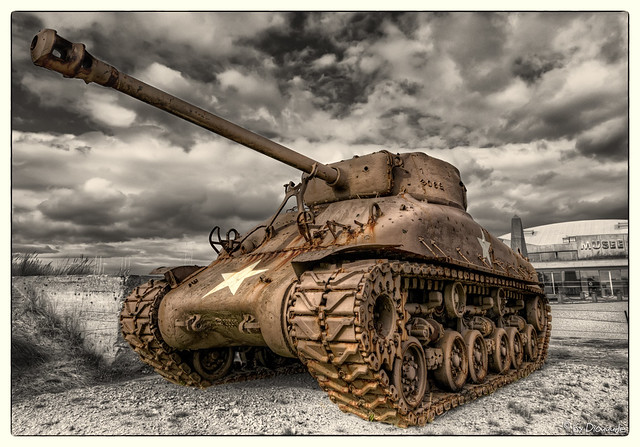 WWII Tank - M4 Sherman