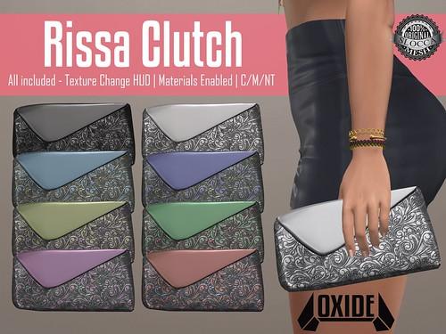 OXIDE Rissa Clutch
