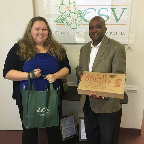 Cremation Society of Virginia, Chantilly - Donations for Local Hospices and Assisted Living Centers | by cremationsocietyofvirginia