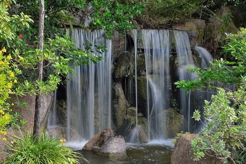 morikami museum japanese gardens nikon d3200 waterfall topshots peacemakers onlythebestofflickr natureselegantshots cascade worldwidelandscapes delraybeach florida palmbeach saariysqualitypictures