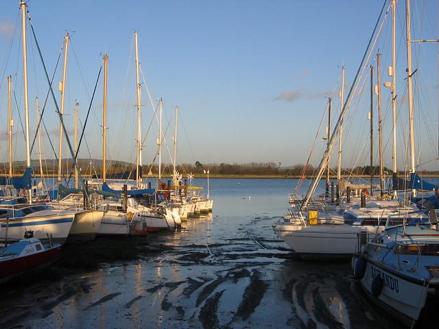 Marina near Thornham Grange, Thorney Island