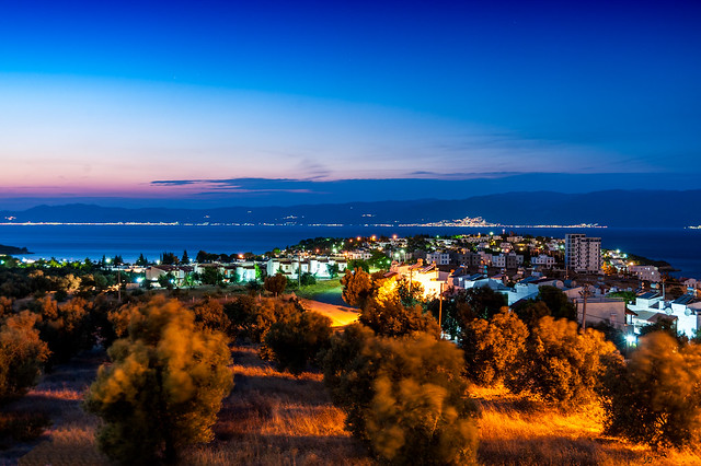 Night View of the Aegean