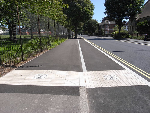 Old Shoreham Road cycle lane | by fred pipes