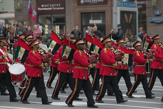 UAE Military Band on the Parade(RUS12147)