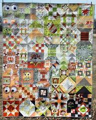 My Favorite Block Sampler Quilt - FINISHED