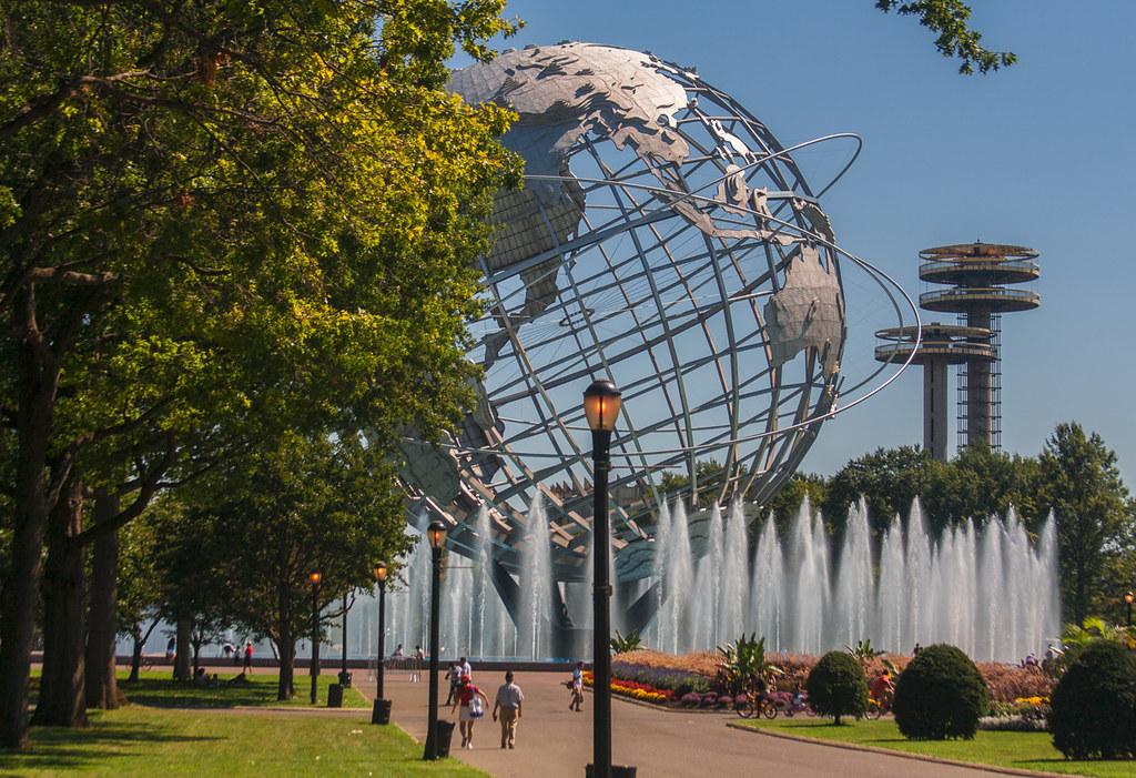 World S Fair Map on