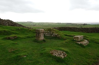 Roman Altar at Aesica Roman Fort