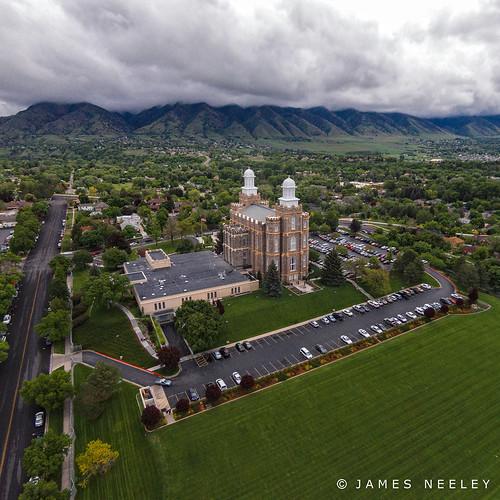 temple utah mormon aerialphotography cachevalley ldstemple logantemple jamesneeley djiphantom2vision