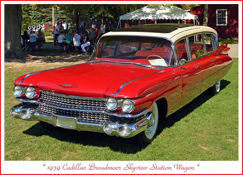 1959 Cadillac Broadmoor Skyview Station Wagon | September 28
