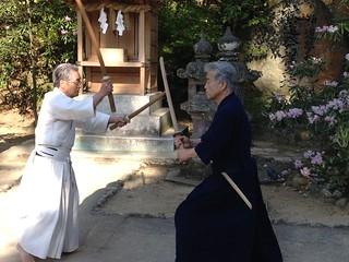 Tominaga Sensei at Kamado Shrine | by Mark Tankosich