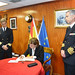Spanish Minister of Defence on board Frigate Navarra - EUNAVFOR MED Op Sophia