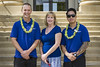 UH Kauai Community College's nursing program staff with student veteran scholarship recipients