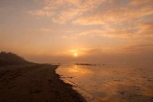 fog foggy buncrana donegal inishowen frost inexplore explored beach ireland landscape swilly loughswilly
