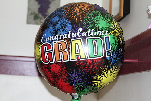 """""""Congratulations, Grad!"""" Balloons 