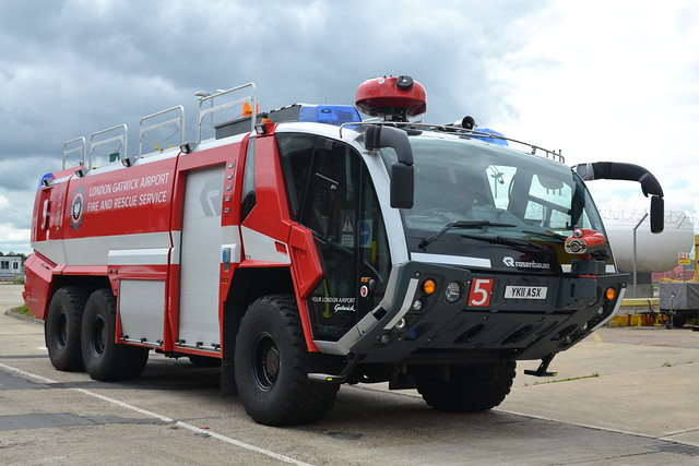 YK11 ASX Rosenbauer Panther CrT London Gatwick Airport