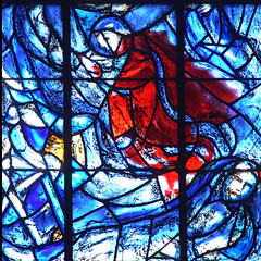 Wed, 04/27/2011 - 14:36 - Marc Chagall Stained Glass. Reims Cathedral, France 27/04/2011
