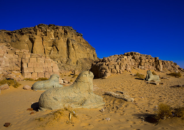 Temple Of Amun In The Holy Mountain Of Jebel Barkal, Karima, Sudan