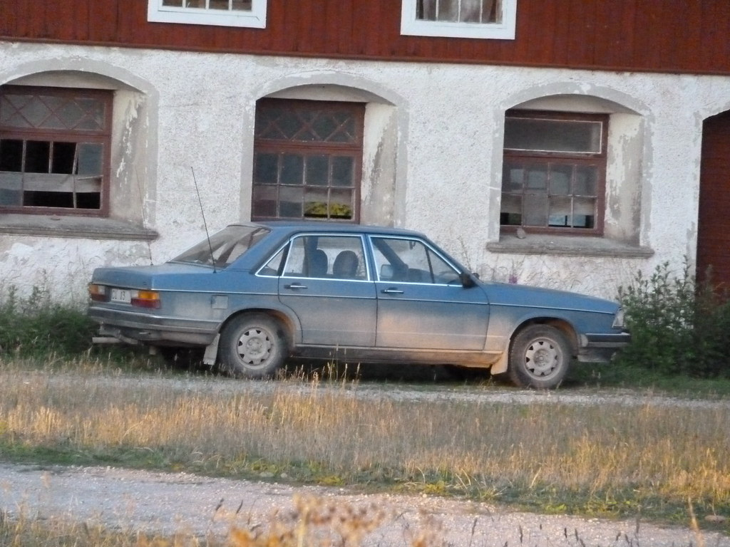 AUDI 100 CL 1982 235672km   More findings from Gotland ...