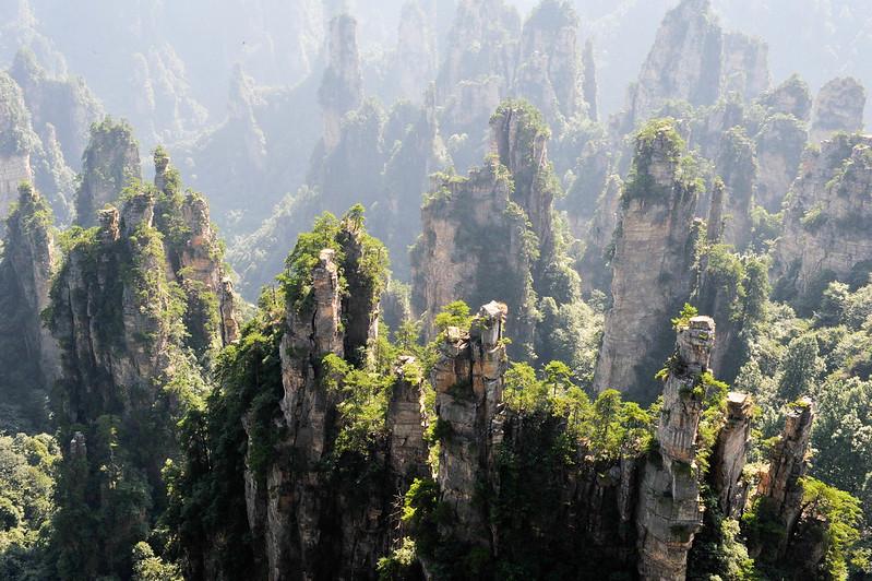 Yuanjiejie and Tianzi Mountains