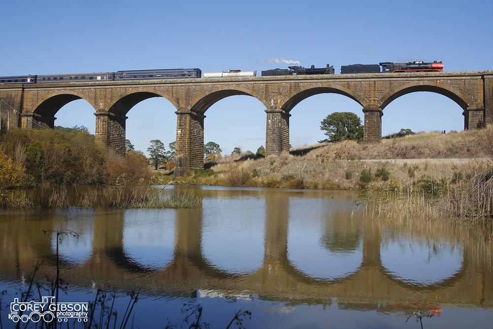 Steamrail R761 & K190 Goldfields Express by Corey Gibson
