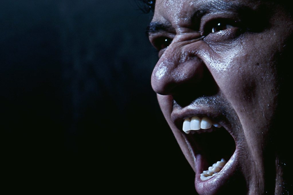 Anger | Used 1 light set up with grid. Light was kept at 5 f… | Flickr