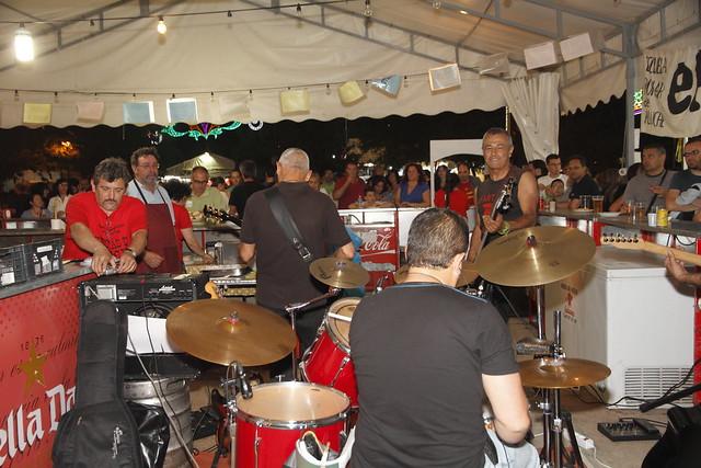 Fin de las fiestas de Aluche 2012 desde nuestra caseta