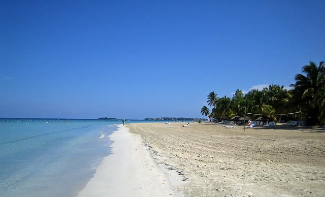 The seven miles beach - Negril, Jamaica