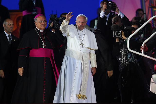 JMJ 2013: El Papa Francisco en la Fiesta de acogida de los Jóvenes