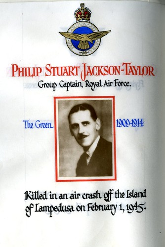Jackson-Taylor, Philip Stuart (1896-1945) | by sherborneschoolarchives