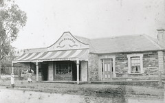 Richard's store,  22 High Street, Willunga, 1890s.