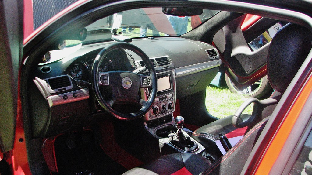 A CUSTOM 2005 CHEVY COBALT IN MAY 2015 | Seen at the 2015 Rh
