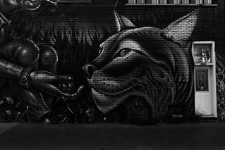Queen Feline (Graffiti Version)