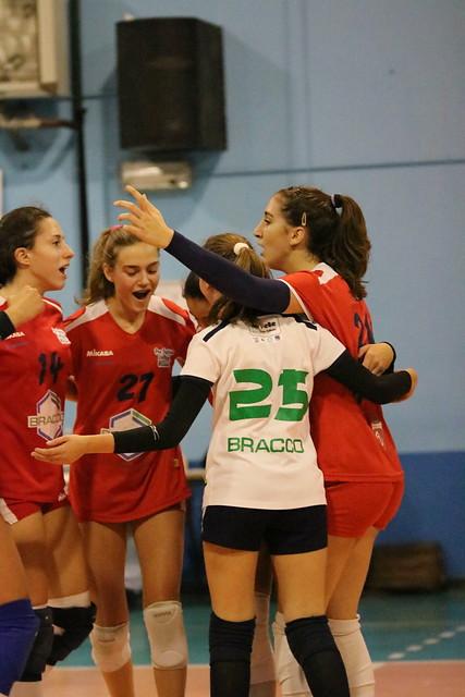 Campionato PGS U16 Bianca 21 Novembre 2016 Gonzaga Volley Pro Patria 1 - 3