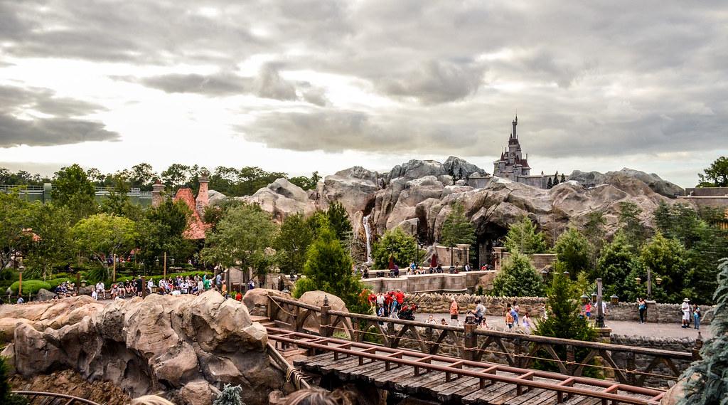 MK Beast castle mine train