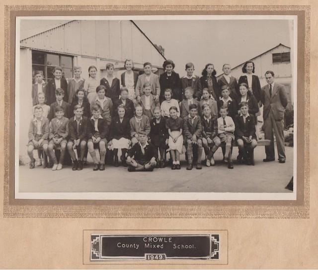 Crowle school 1949
