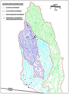 Western Upper Suwannee Basin: Alapaha, Withlacoochee, Little Rivers | by faul