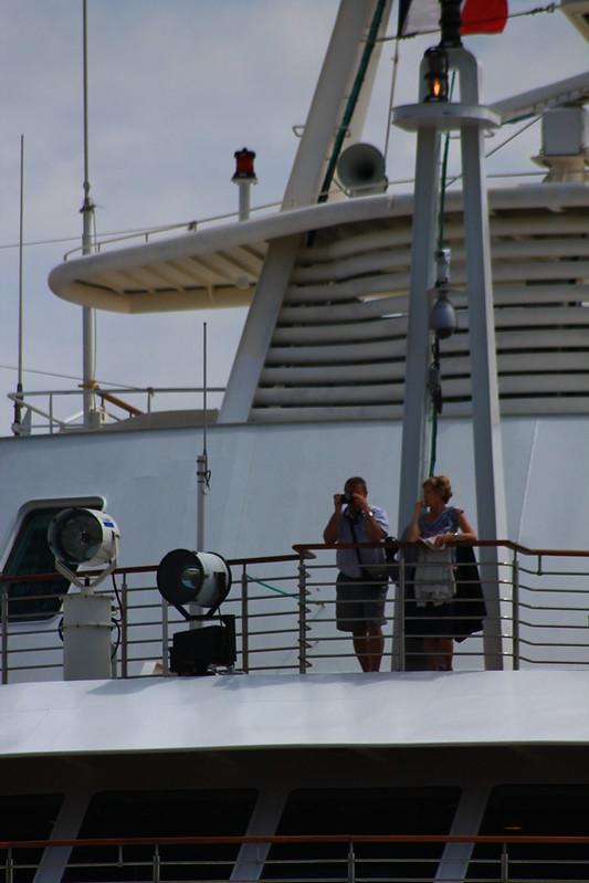 Accostage du Paquebot Silver Explorer à Bordeaux - 12 mai 2012