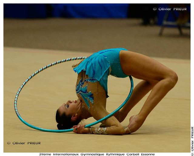 Viktoriya GORBUNOVA (KAZ) at Internationaux GR Corbeil Essonne