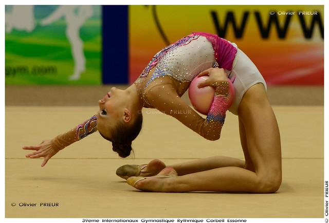 Valeriya DAVIDOVA (UZB) at Internationaux GR Corbeil Essonne