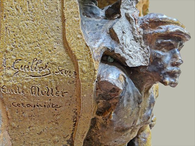 Bas-relief (musée-théâtre Dali, Figueres)