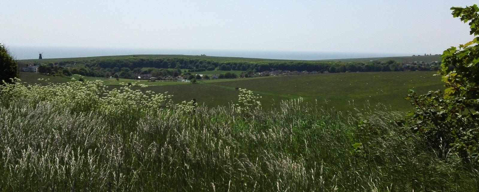 Saturday Walkers Club Extra Walk 134: Lewes to Brighton via Rottingdean Rottingdean and Roedean by the sea